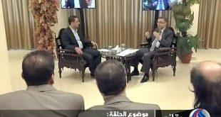 مقابلة حضرة الرئيس على قناة العالم في 1-7-2012