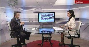 مقابلة حضرة الرئيس على الاخبارية السورية في 19-9-2012