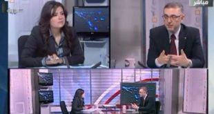 مقابلة حضرة الرئيس على الفضائية السورية في 21-10-2012