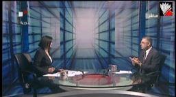 مقابلة حضرة الرئيس على الفضائية السورية في 18-2-2014