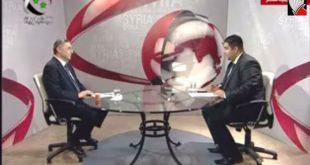 مقابلة حضرة الرئيس في 2-9-2014 على الاخبارية السورية