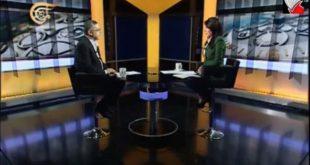 مقابلة حضرة الرئيس على قناة الميادين في 5-11-2014