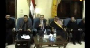 رئيس الحزب السوري القومي الإجتماعي في زيارة الى محافظة الحسكة في الشام