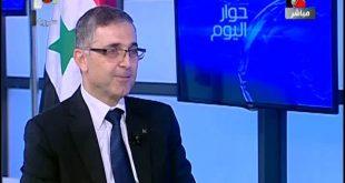 مقابلة حضرة الرئيس على الفضائية السورية 13-5-2015