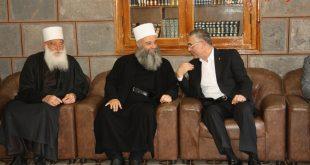 زيارة رئيس الحزب إلى محافظة السويداء على رأس وفد من تيار البديل لأجل سورية